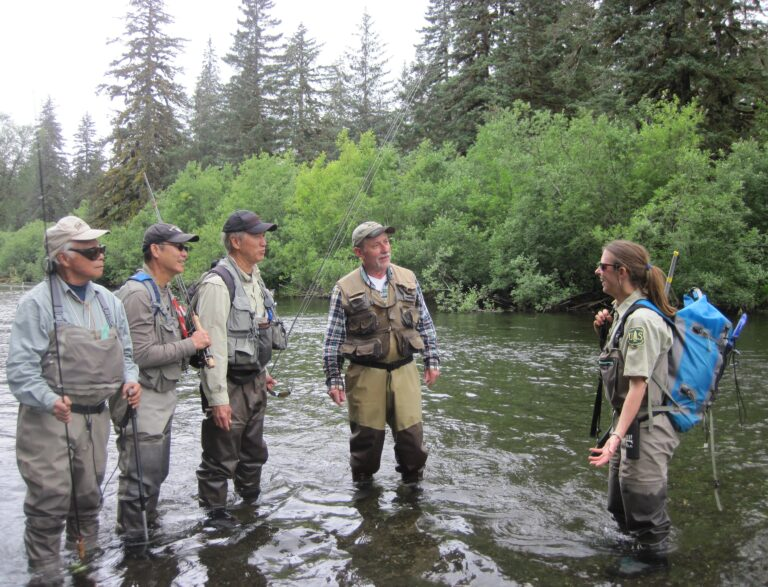 In some years, River Rangers have made over 3,000 contacts with a variety of fishermen.