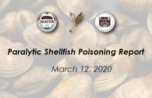 shellfish toxin results march 12, 2020