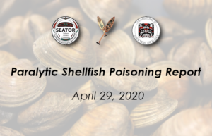 Shellfish toxin results April 29, 2020
