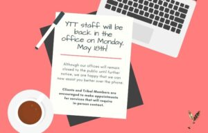 YTT to Resume Regular Business Hours Starting Monday, May 18, 2020