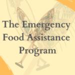 The Emergency Food Assistance Program (TEFAP) FY2021 Application